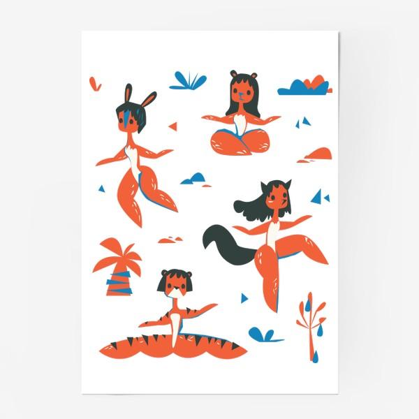 Постер «женщины-звери»