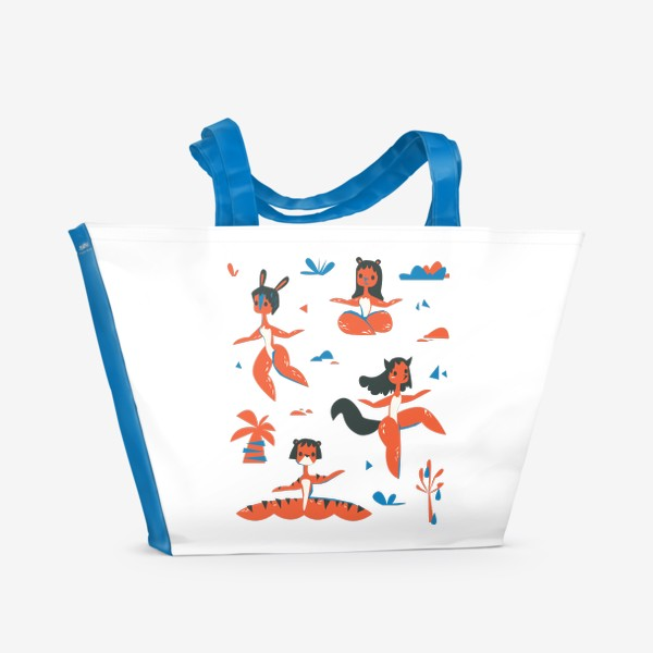 Пляжная сумка «женщины-звери»