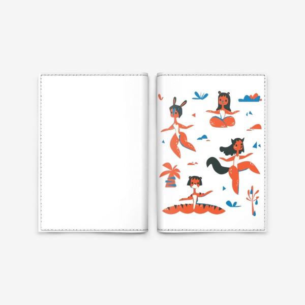 Обложка для паспорта «женщины-звери»