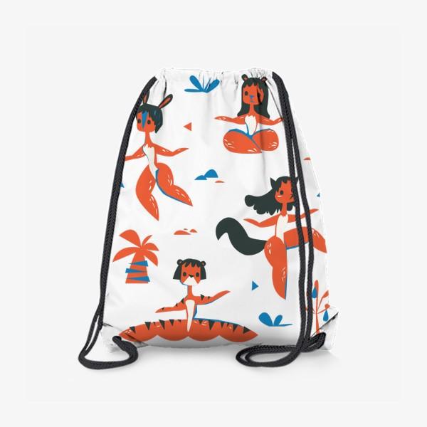 Рюкзак «женщины-звери»