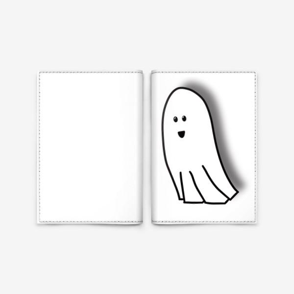 Обложка для паспорта «Привидение»