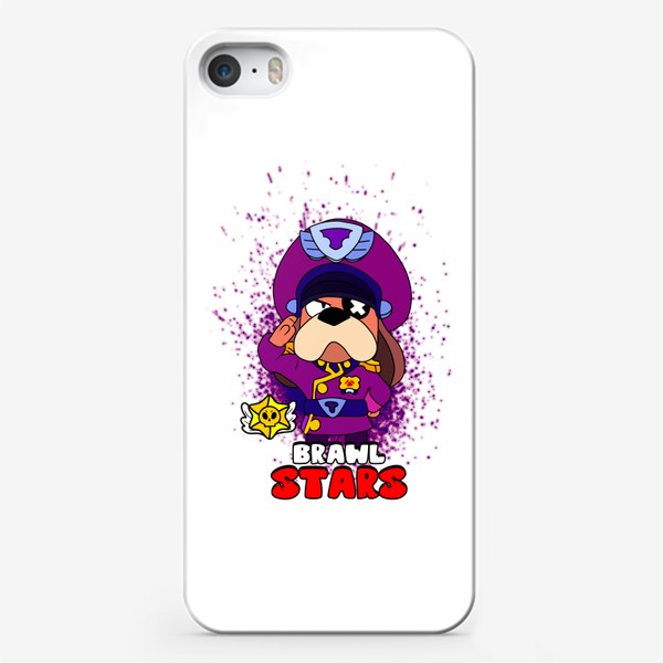 "Чехол iPhone «Brawl Stars ""Генерал Гавс""»"