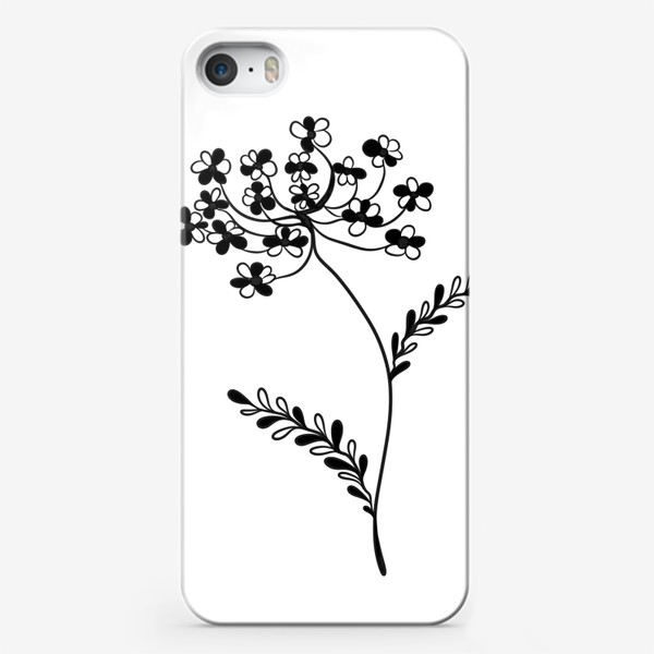 Чехол iPhone «Цветок»