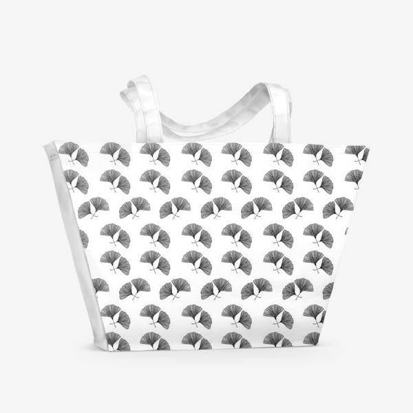 Пляжная сумка «Гинкго Билоба»