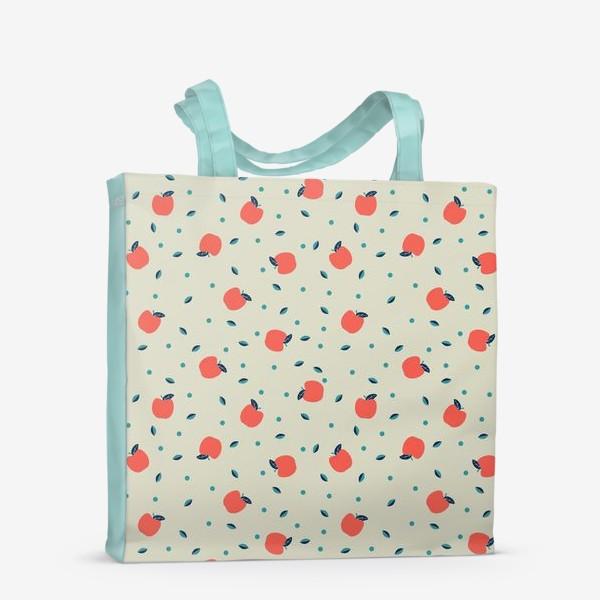 Сумка-шоппер «Много красных яблочек»