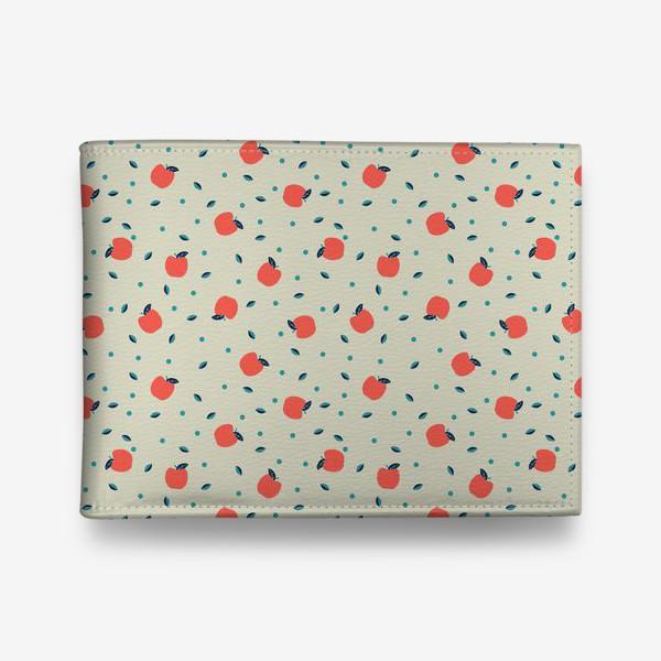 Кошелек «Много красных яблочек»