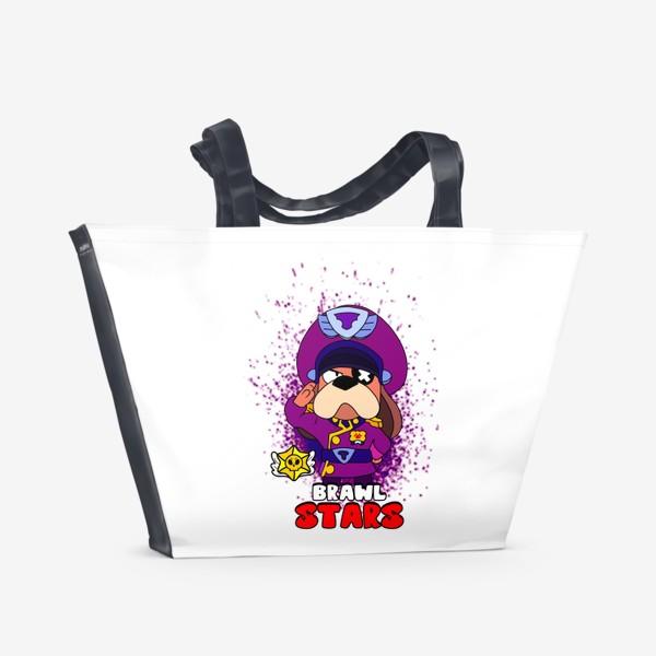 """Пляжная сумка «Brawl Stars """"Генерал Гавс""""»"""