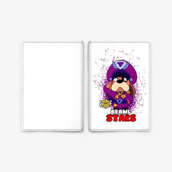 """Обложка для паспорта «Brawl Stars """"Генерал Гавс""""»"""