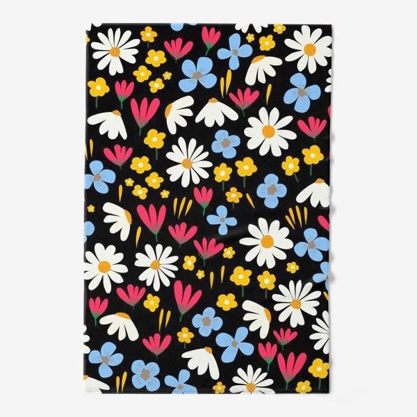 Полотенце «цветочная поляна»