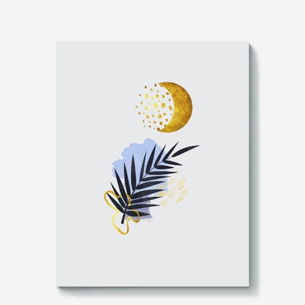 Холст «Абстрактная композиция №1»