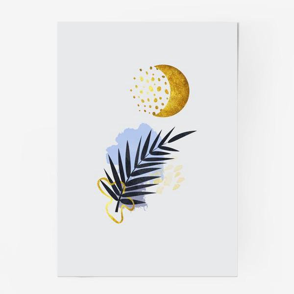 Постер «Абстрактная композиция №1»
