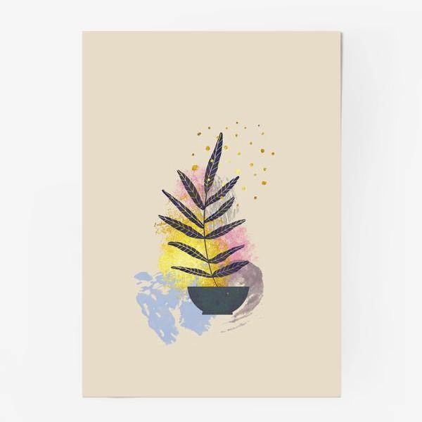 Постер «Абстрактная композиция №2»