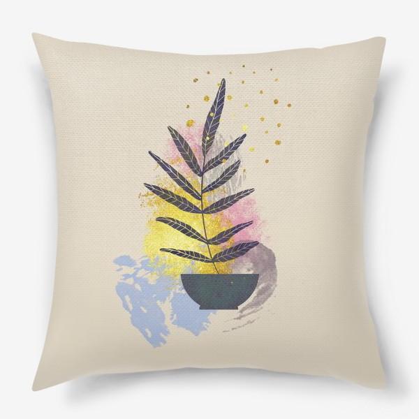 Подушка «Абстрактная композиция №2»