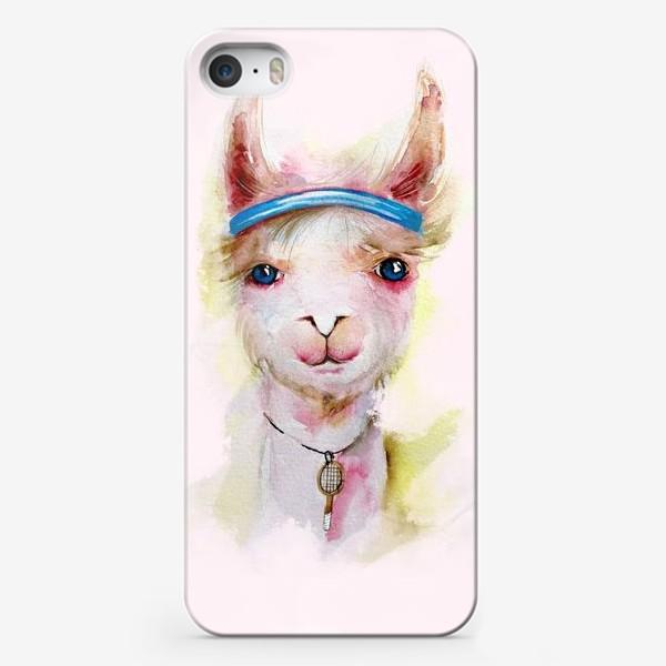 Чехол iPhone «Лама»