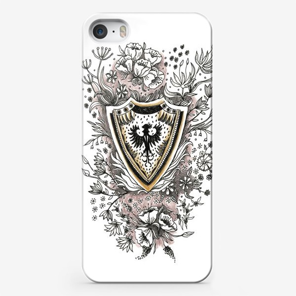 Чехол iPhone «Графичный щит»