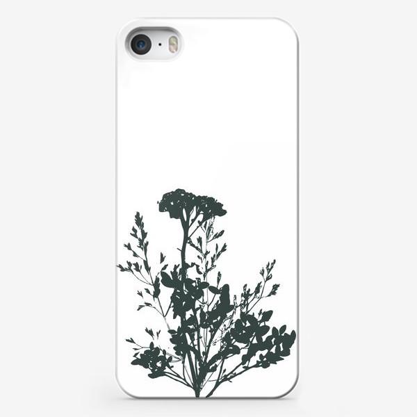 Чехол iPhone «Дикие травы»