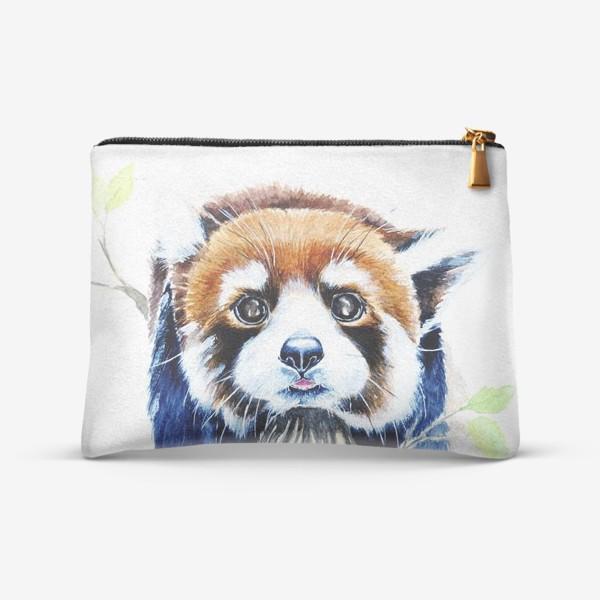 Косметичка «Рыжая панда»