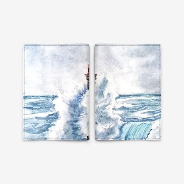 Обложка для паспорта «Маяк море»