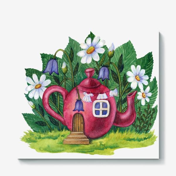 Холст «Маленький домик»