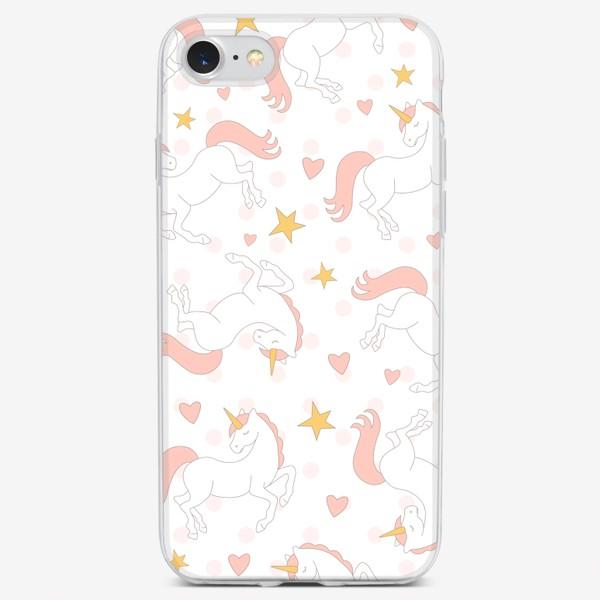 Чехол iPhone «Спящие единороги»