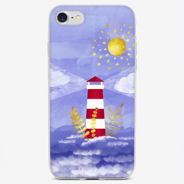 Чехол iPhone «Маяк. Море. Солнце»