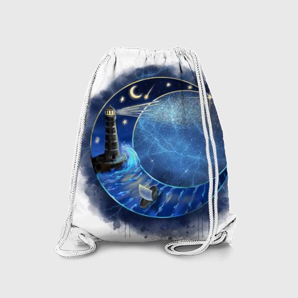 Рюкзак «Космический месяц »
