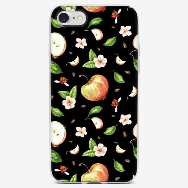 Чехол iPhone «Ночь в яблоках»
