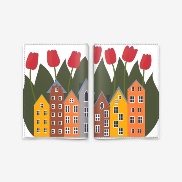 Обложка для паспорта «Голландия»
