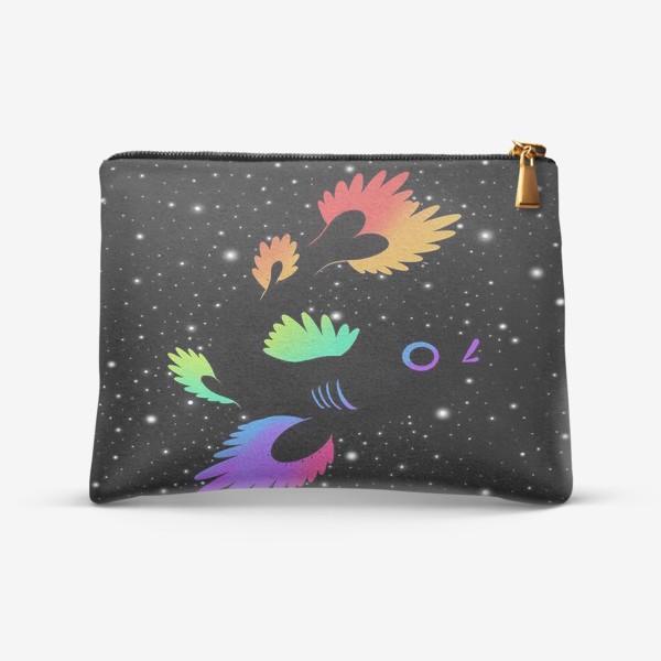 Косметичка «Рыба с звёздами»