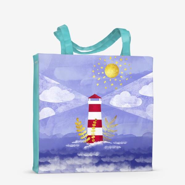 Сумка-шоппер «Маяк. Море. Солнце»