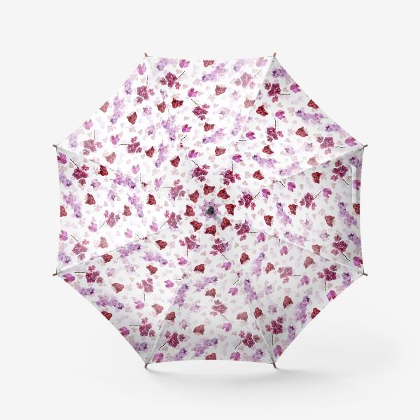 Зонт «акварельная орхидея»