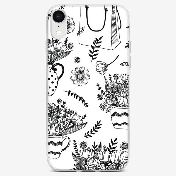 Чехол iPhone «Весенние цветы»