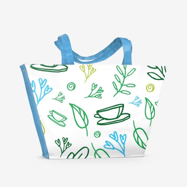 Пляжная сумка «утро весной»