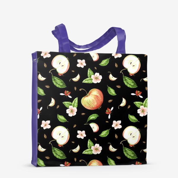 Сумка-шоппер «Ночь в яблоках»