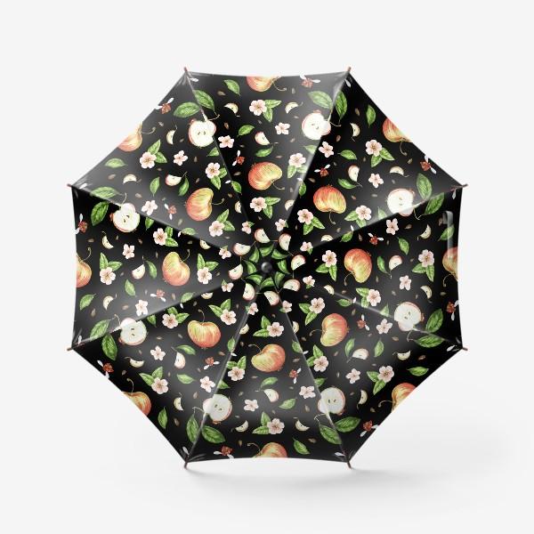 Зонт «Ночь в яблоках»