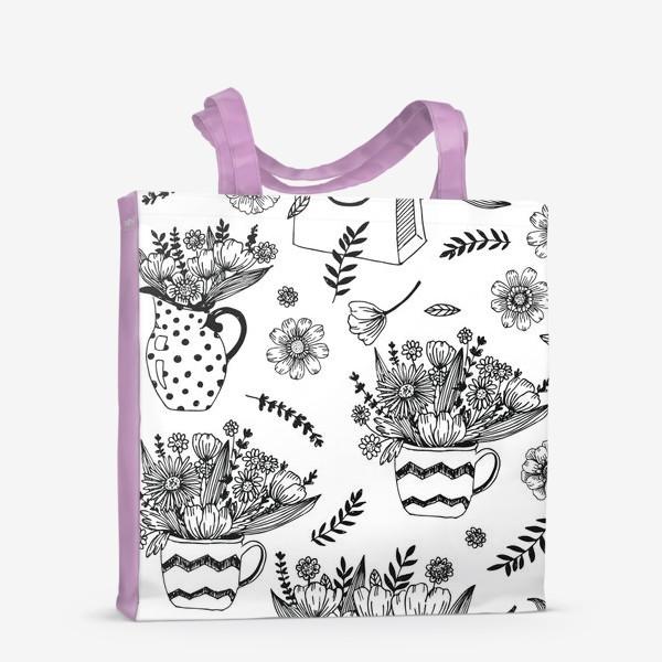Сумка-шоппер «Весенние цветы»