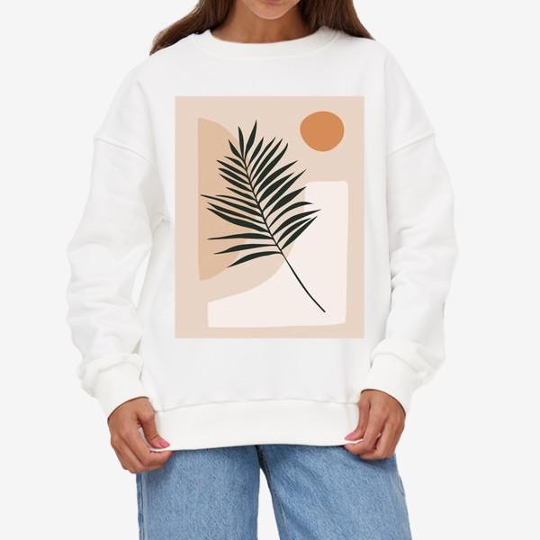 Свитшот «Пальмовая ветка»