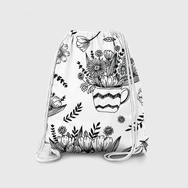 Рюкзак «Весенние цветы»