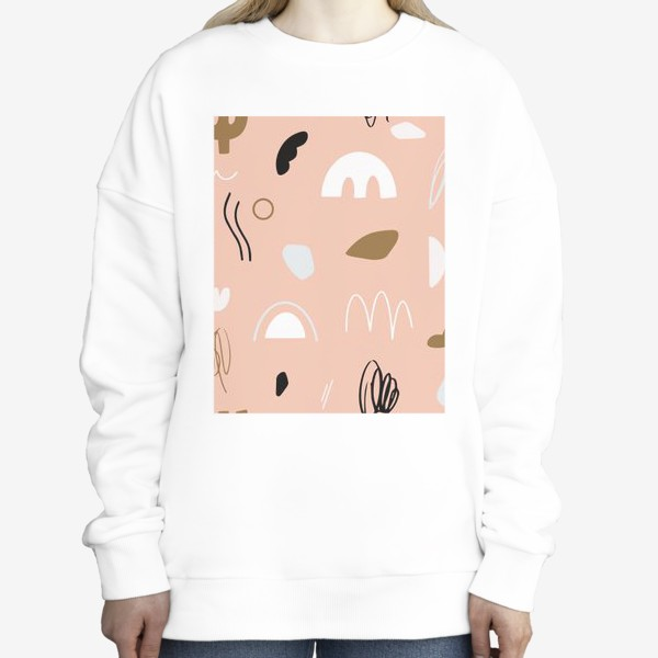Свитшот «Запах розового заката на море»