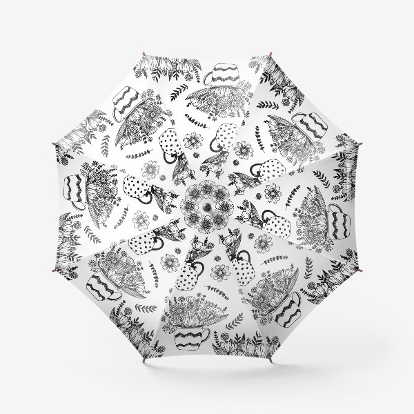 Зонт «Весенние цветы»