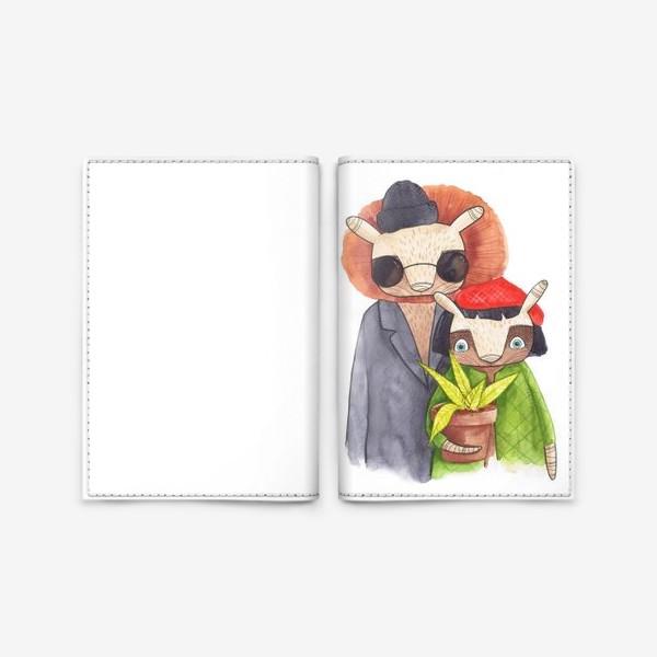 Обложка для паспорта «Леон»