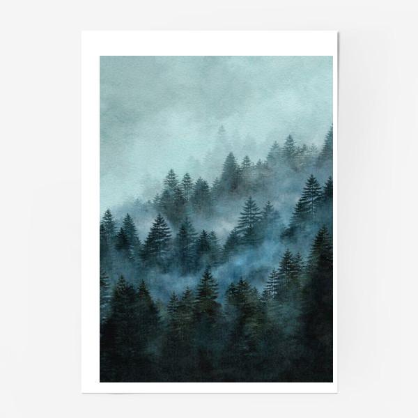 Постер «Туманный лес»