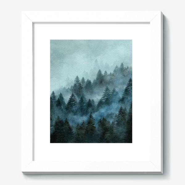 Картина «Туманный лес»