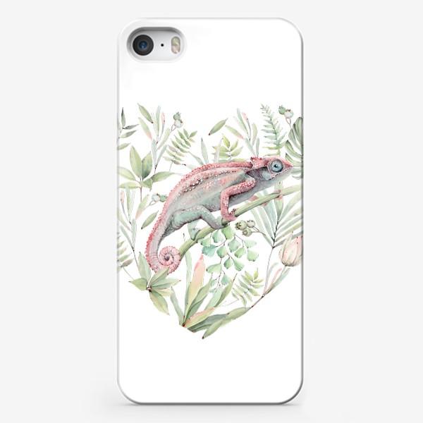 Чехол iPhone «Tropical wind»