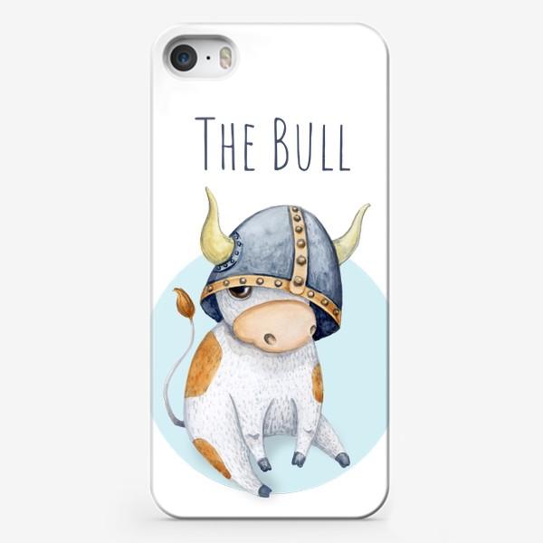 Чехол iPhone «Милый бычок, Телец»