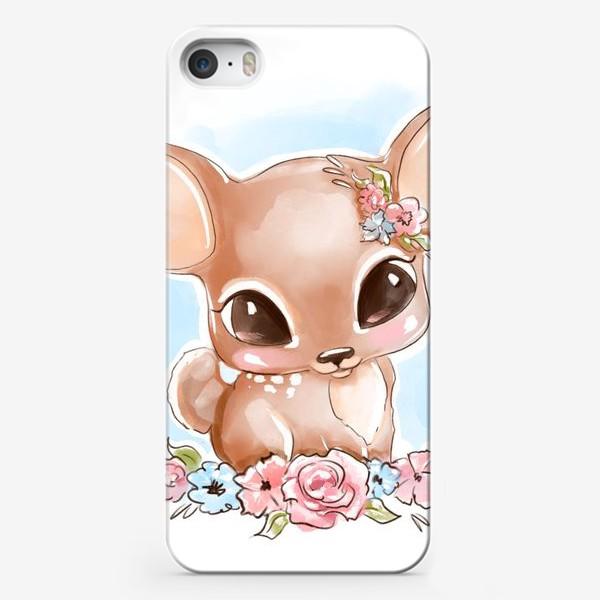 Чехол iPhone «Оленёнок»