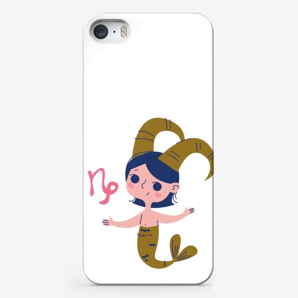 Чехол iPhone «Козерог знак зодиака девочка»