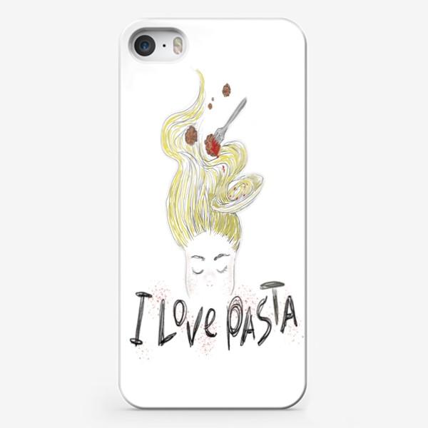 Чехол iPhone «Ilovepasta»
