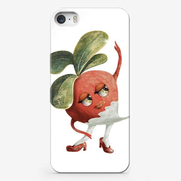 Чехол iPhone «Редисочка»