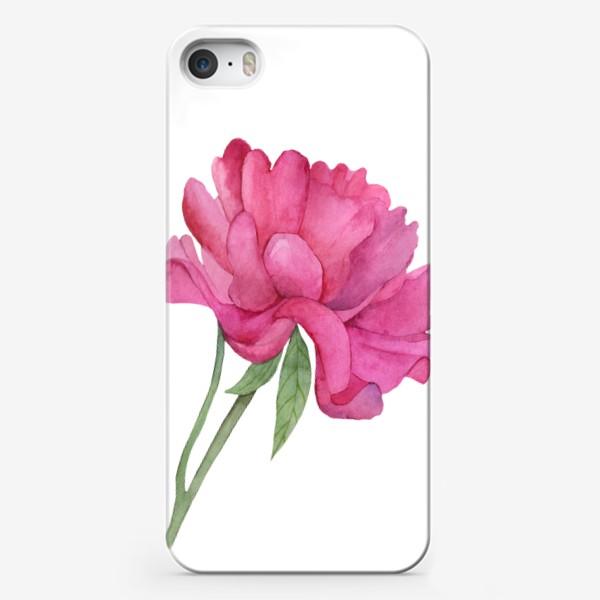 Чехол iPhone «Розовый пион»
